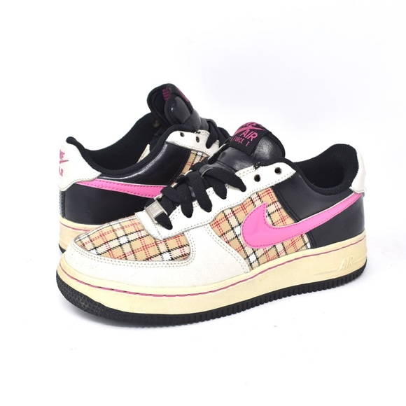 ✨NIKE✨Air Force 1 in Burberry Pink